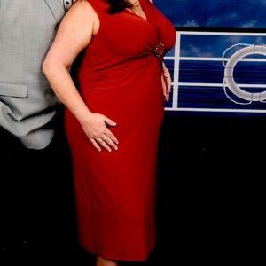 Dresses & Skirts - KSL red dress